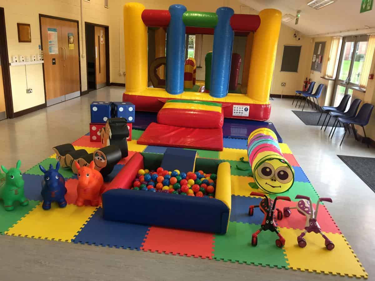 Jump and Play Active soft play and low height bouncy castle Soft Play Hire in Steyning Play Equipment Hire