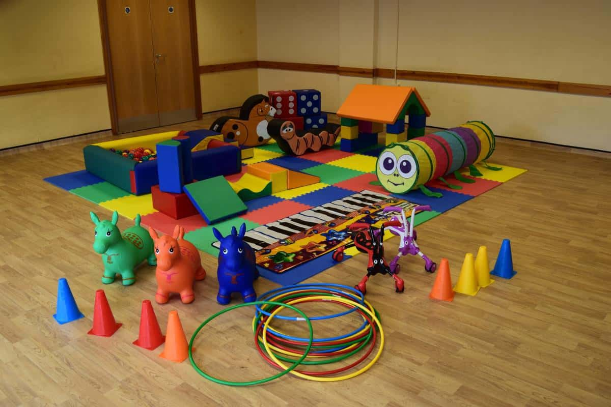 Jump and Play Enormous soft play party setup 7 Soft Play Hire in Henfield Play Equipment Hire