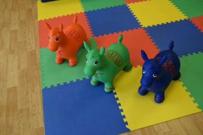 colourful toddler toy hire for a birthday party
