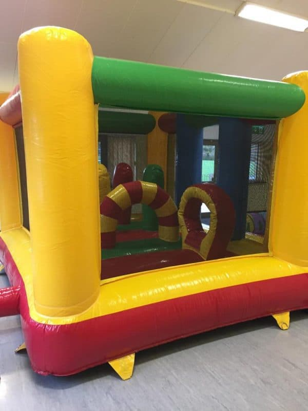 Jump and Play Pres school Bouncy Castle e1511260481855 Rainbow Bouncy Castle