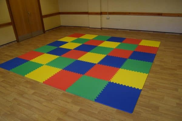 Jump and Play Soft Play Safety Mats 2 Big Soft Play Party Package