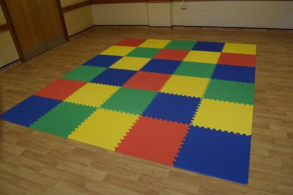 Jump and Play Soft Play Safety Mats 8 Enormous Soft Play Party & Dinosaur Bouncy Castle