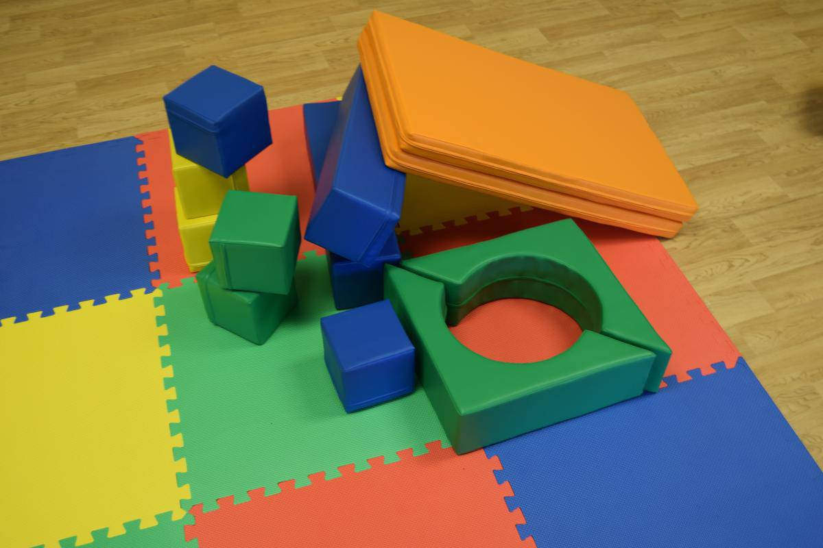 Jump and Play Soft Play shapes Play House 1 Soft Play Hire in Steyning Play Equipment Hire
