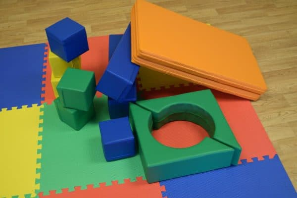 Jump and Play Soft Play shapes Play House 10 Soft Play brick house