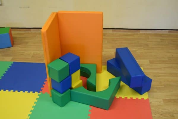 Jump and Play Soft Play shapes Play House 5 Soft Play brick house