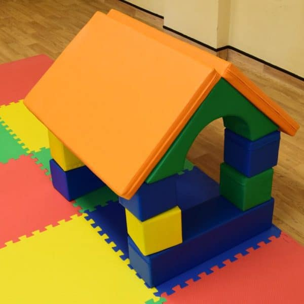 Jump and Play Soft play shape house 6 600x600 Soft Play brick house