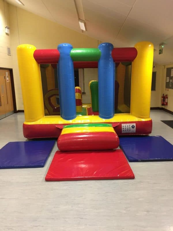 Jump and Play Toddler Bouncy Castle e1511260460631 Rainbow Bouncy Castle