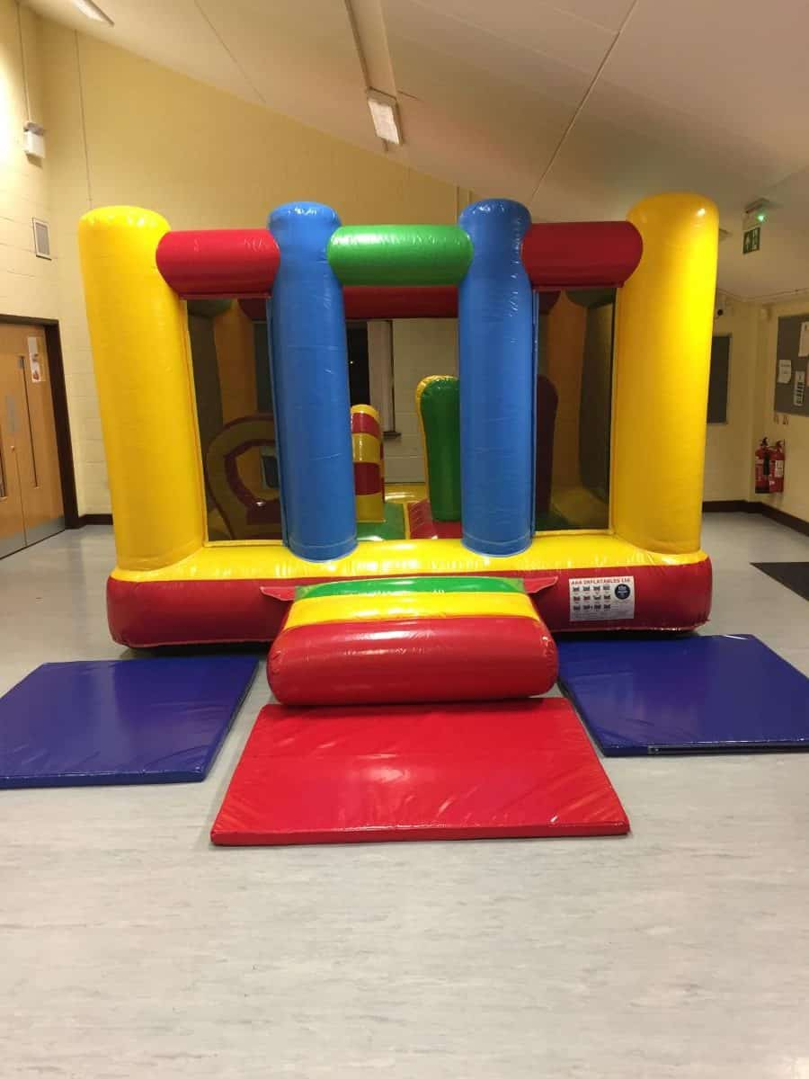 Jump and Play Toddler Bouncy Castle e1511260460631 Soft Play Hire in Steyning Play Equipment Hire
