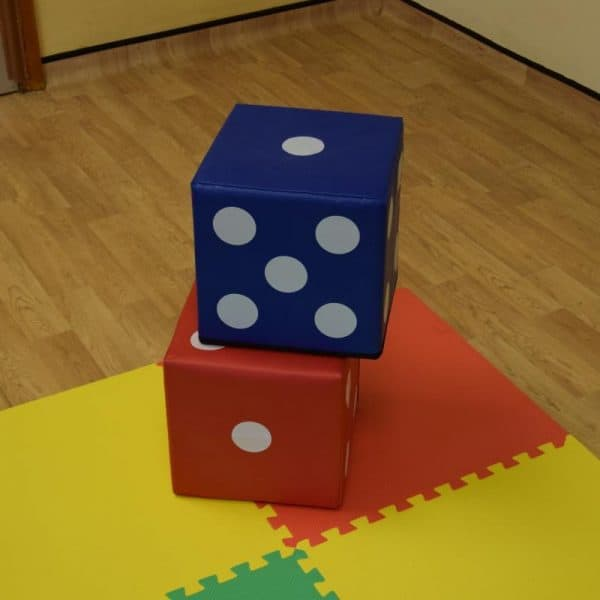 Jump and Play 2 soft play lucky dice 2 600x600 Giant Lucky Dice