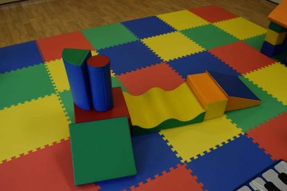 7 soft play shapes for childrens party hire