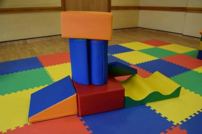 7 soft play shapes for childrens party hire in Sussex