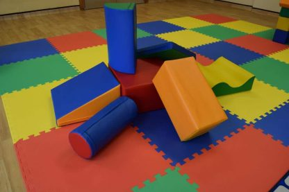 soft play shapes childrens party hire