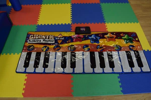 Jump and Play Giant Keyboard hire 4 Giant noisy piano keyboard