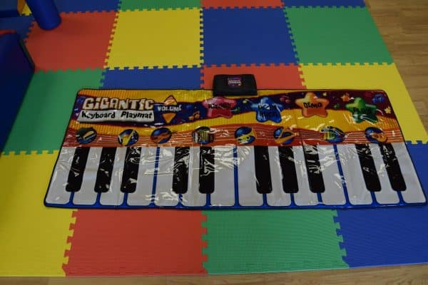Jump and Play Giant Keyboard hire 5 Giant noisy piano keyboard