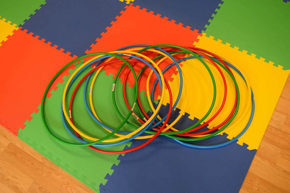 Jump and Play Hula Hoops 3 Soft Play Hire in Steyning Play Equipment Hire