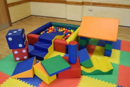 Baby soft play party package