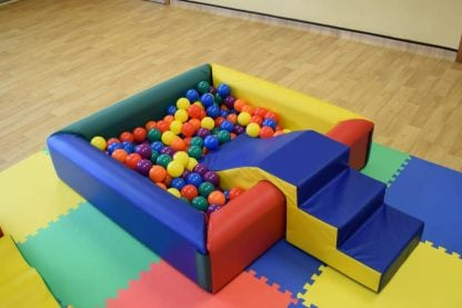 Professional Ball Pool with steps and slide to rent in Brighton Sussex
