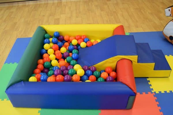 Jump and Play Soft Play Ball Pit or Ball Pool 6 Enormous Soft Play Party & Dinosaur Bouncy Castle