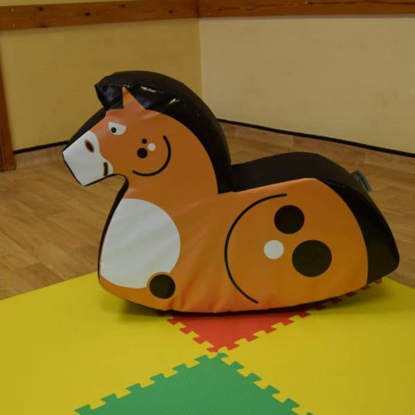 Jump and Play Soft Play Chestnut Rocking Horse 4 600x600 Soft Play Rocking Horse