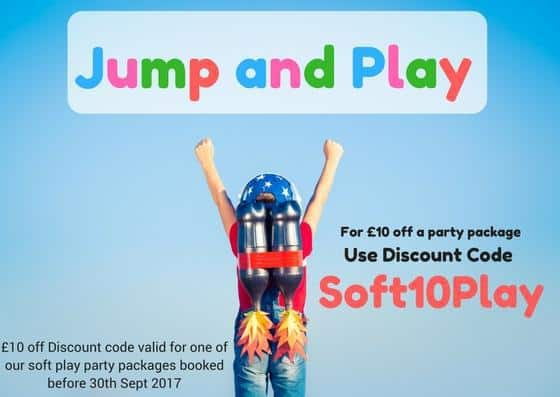 Jump and Play Soft10Play Soft Play Discount Code September 2017 Soft Play  Discount code