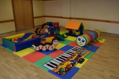 mobile soft play hire