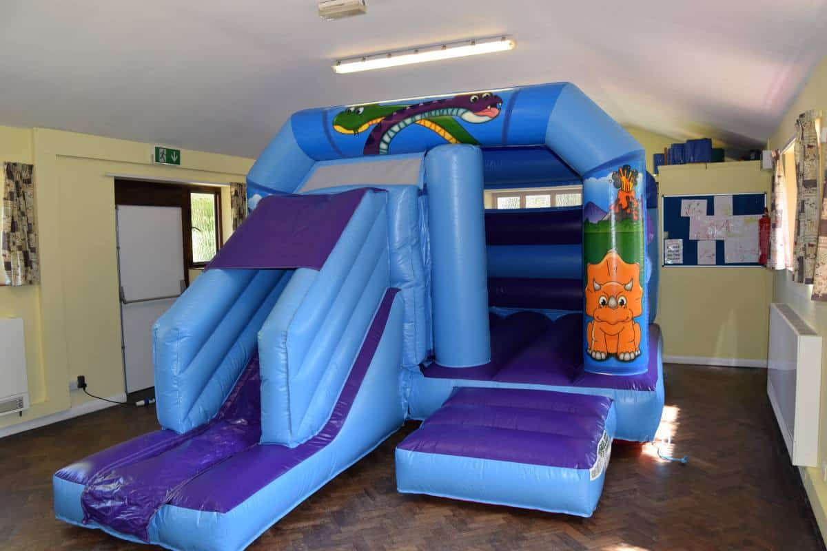 Jump and Play Cute dinosaur inflatable Soft Play Hire in Steyning Play Equipment Hire