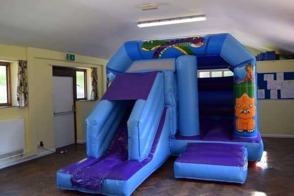 Jump and Play Dinosaur bouncy castle with slide Dinosaur Bouncy Castle with Front Slide