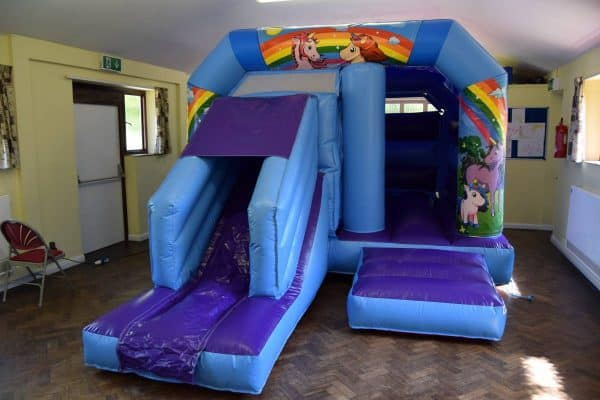Jump and Play indoor unicorn bouncy castle with slide Enormous Soft Play Party & Unicorn Bouncy Castle