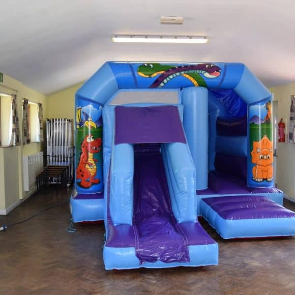 Jump and Play low height dinosaur bouncy castle 600x600 Soft Play Hire in Steyning Play Equipment Hire