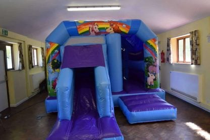 low height Unicorn Bouncy Castle