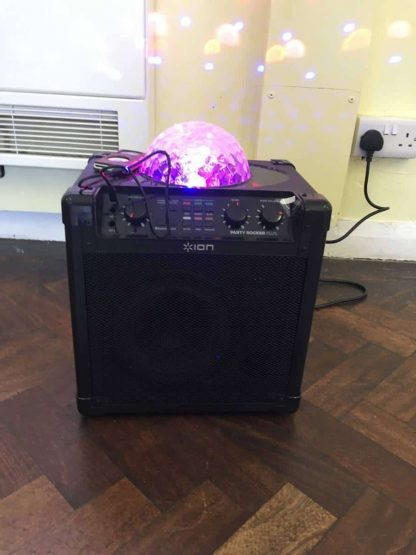 Bluetooth Party Speaker with disco lights