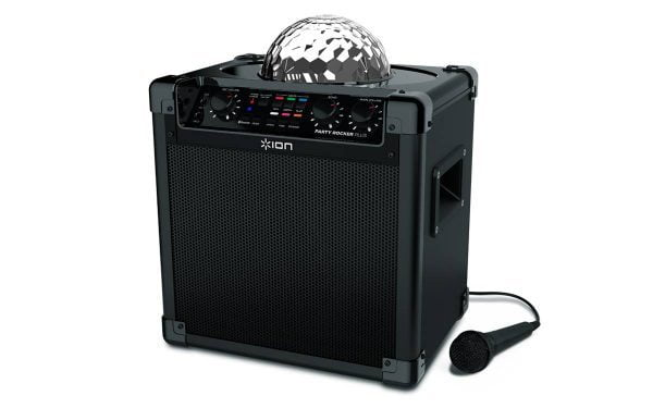 Jump and Play Party Rocker Bluetooth Party Speaker with disco lights