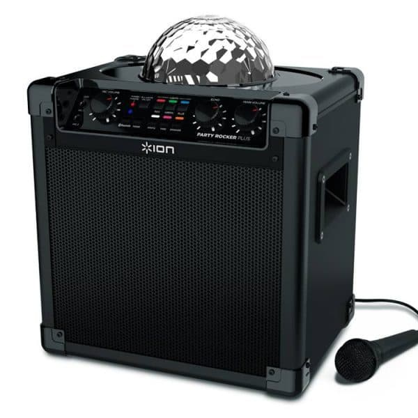 Jump and Play Party Rocker 600x600 Bluetooth Party Speaker with disco lights