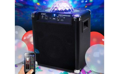 Childrens party speaker system
