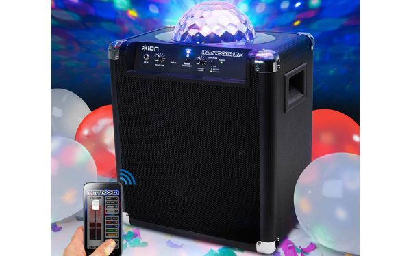 Jump and Play bluetooth party speaker Bluetooth Party Speaker with disco lights