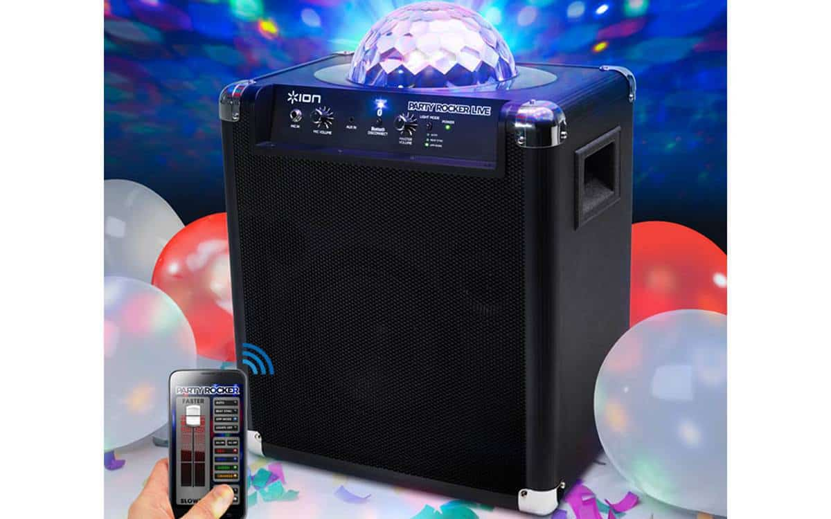Jump and Play bluetooth party speaker My Account