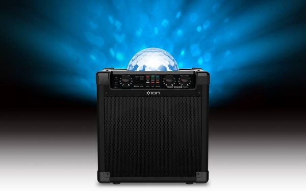 Jump and Play party rocker speaker with lights Bluetooth Party Speaker with disco lights