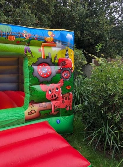 Farmyard Bouncy Castle