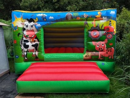 Super Farmyard Bouncy Castle